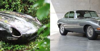 Photo 10th ever Jaguar E-Type 4.2 REBORN