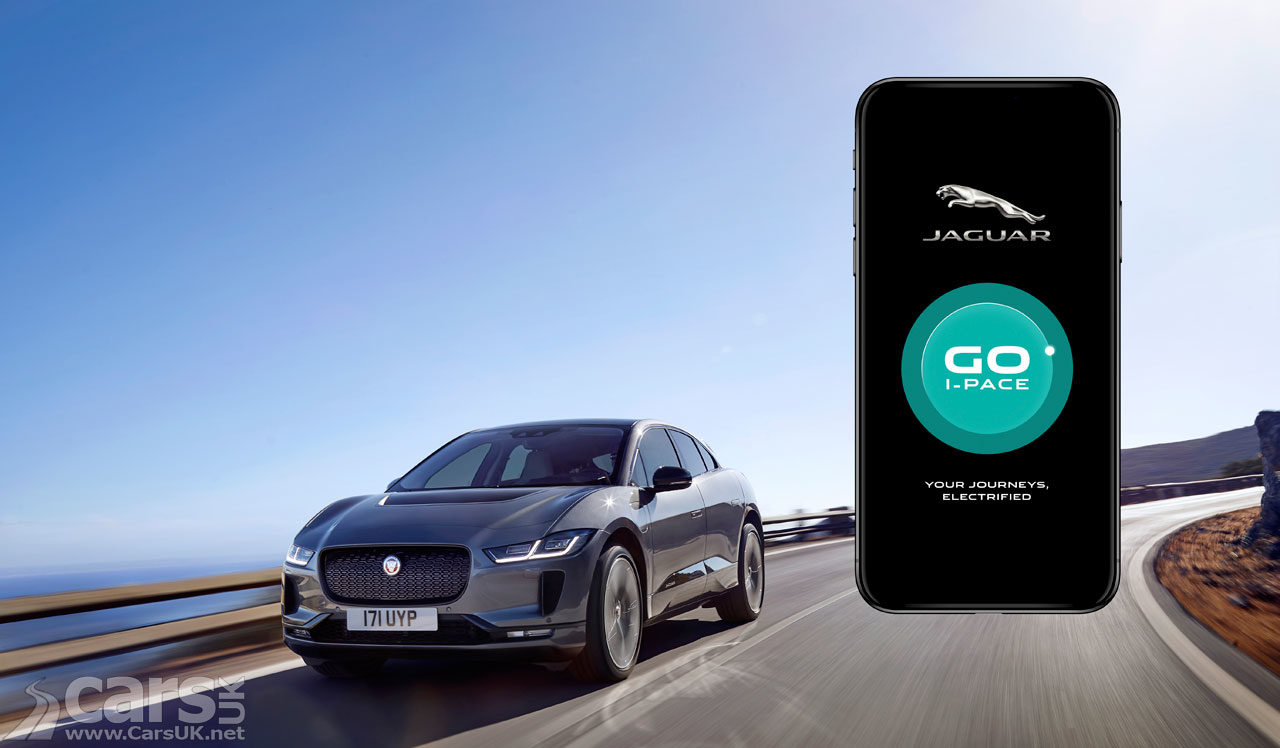 Photo of Jaguar I-Pace and Go I-Pace App