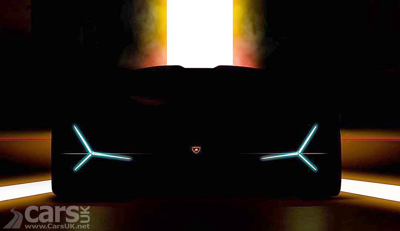 Lamborghini TEASE new Supercar