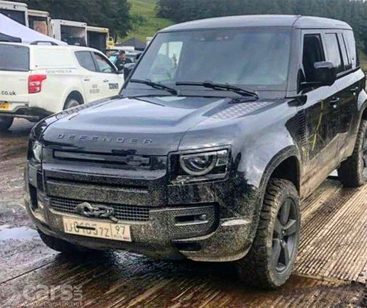 Photo of new Land Rover Defender