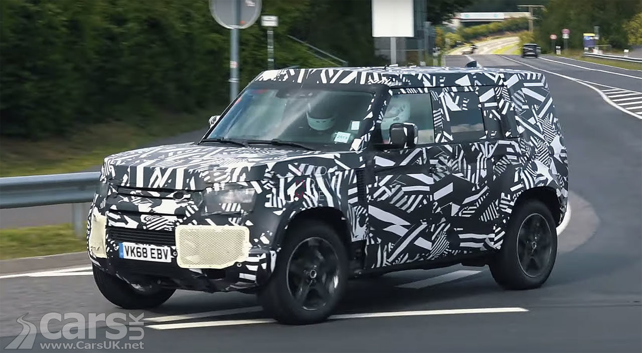Photo new Land Rover Defender Nurburgring