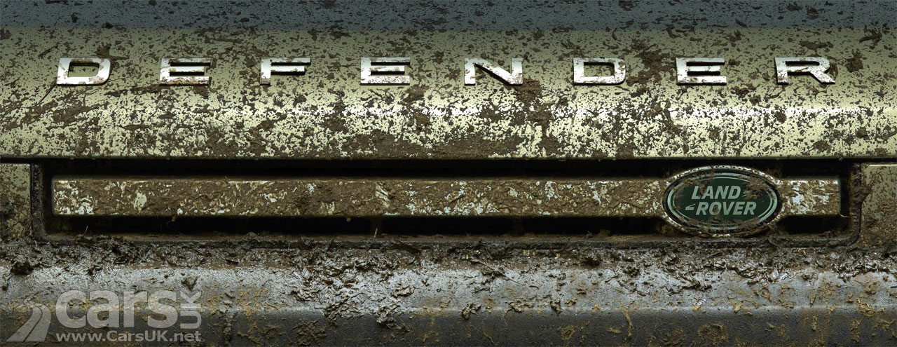 Photo new Land Rover Defender Tease