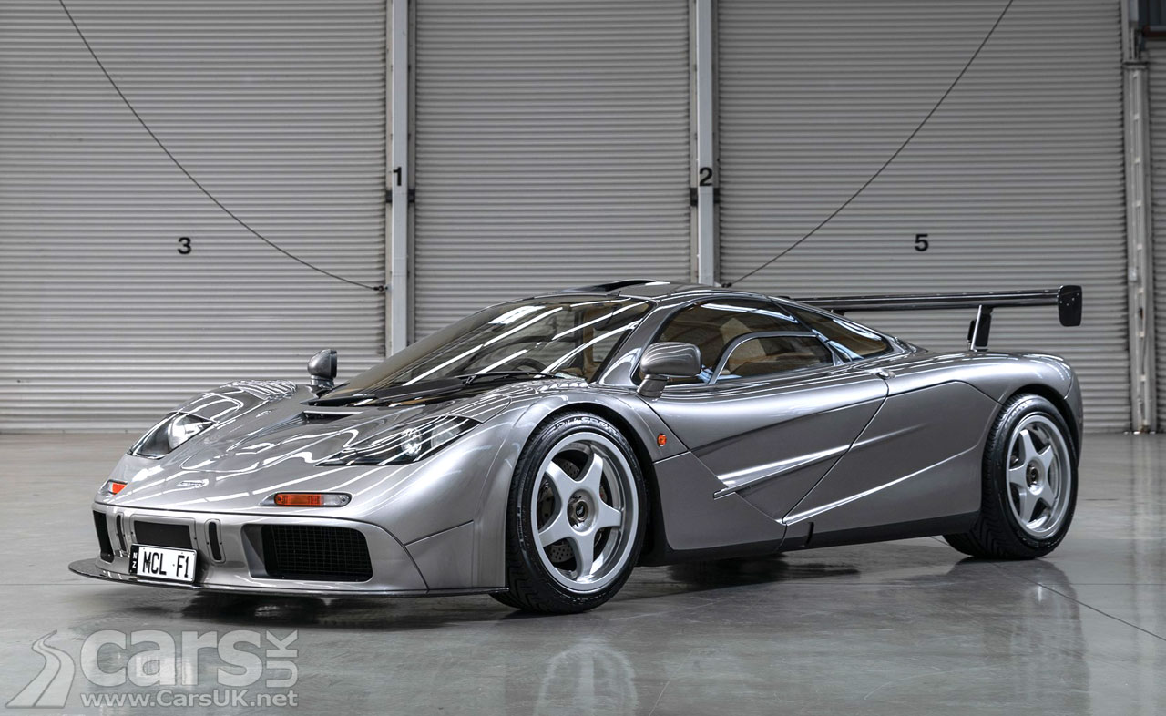 Photo of McLaren F1 'LM Spec' chassis #018