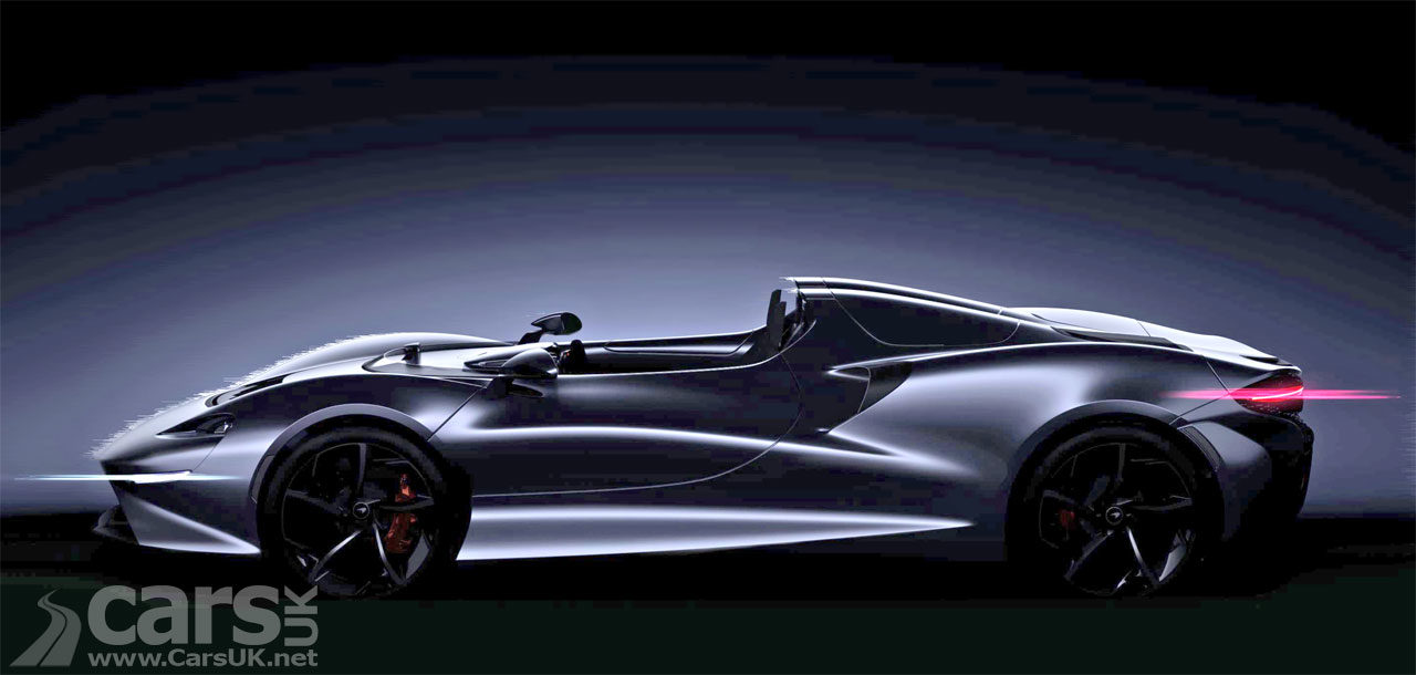 Image of new McLaren Ultimate Series Roadster