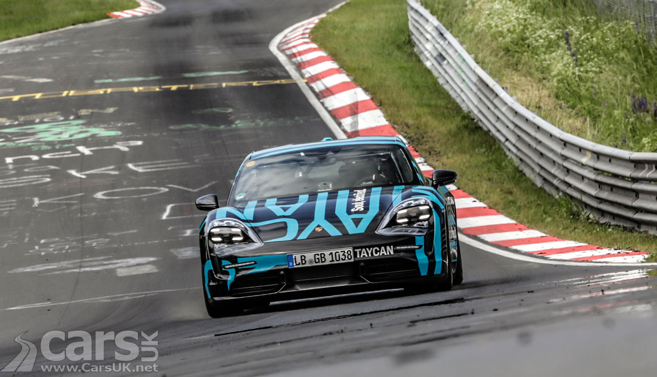 Photo Porsche Taycan Nurburgring EV lap record