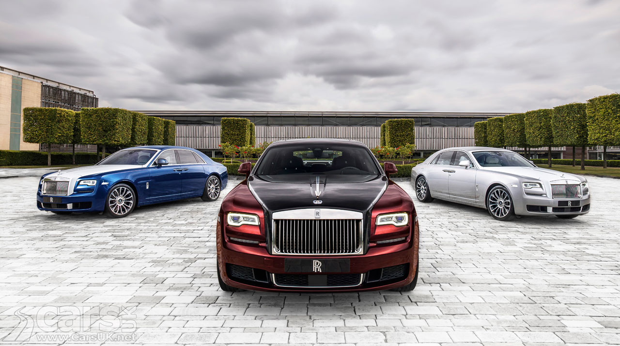 Photo of Rolls-Royce Ghost Zenith Collection
