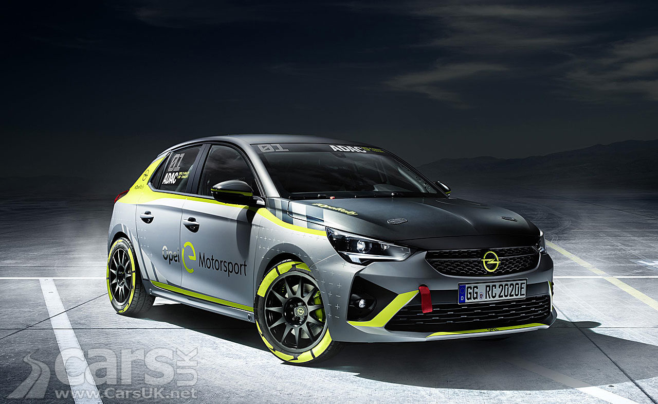 Photo of Vauxhall Corsa-e Rally electric rally car