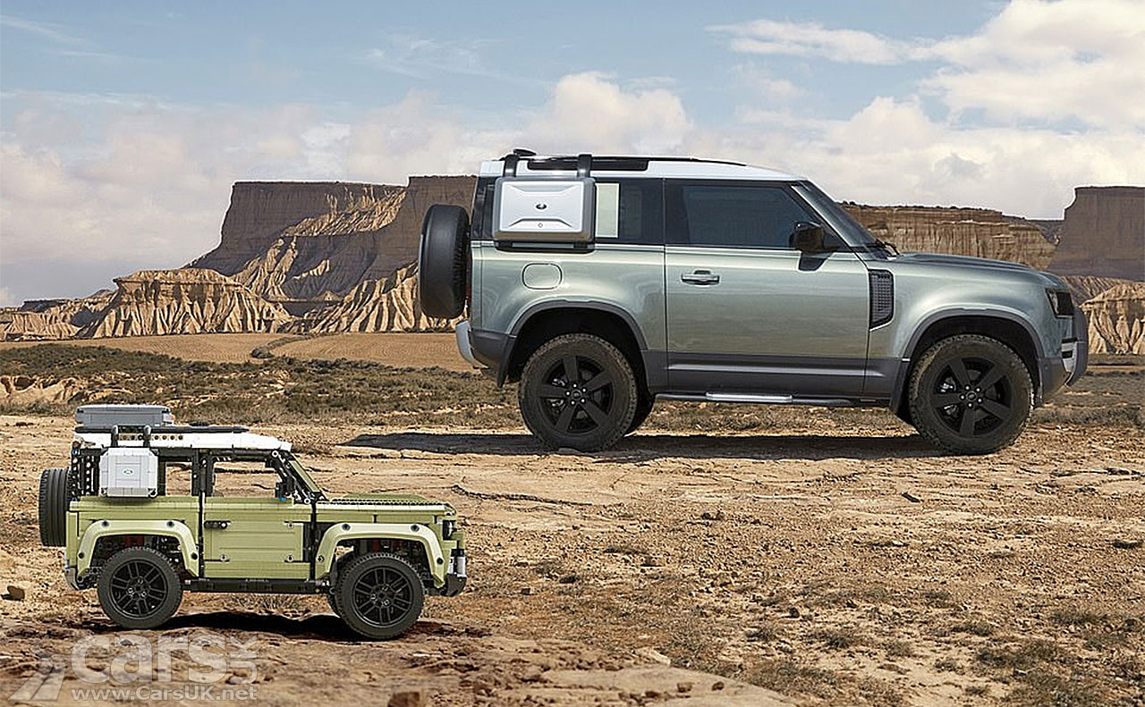 This is the new Land Rover Defender you CAN afford