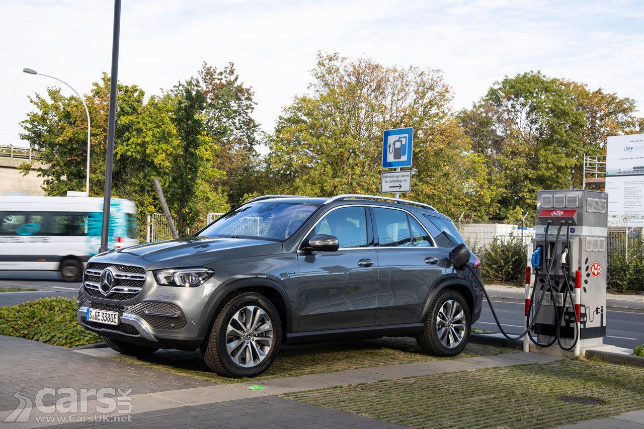 Photo New Mercedes GLE 350de Plug-in diesel hybrid
