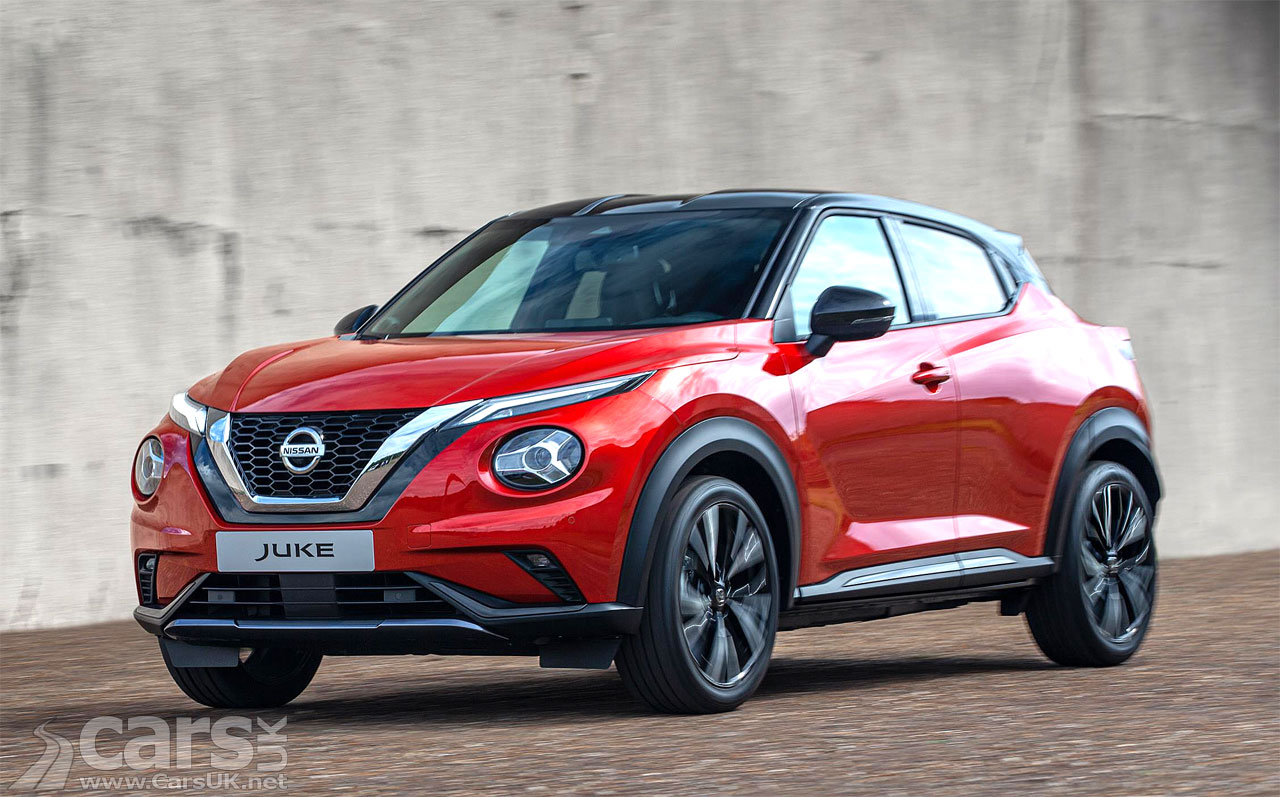 Photo of the new Nissan Juke