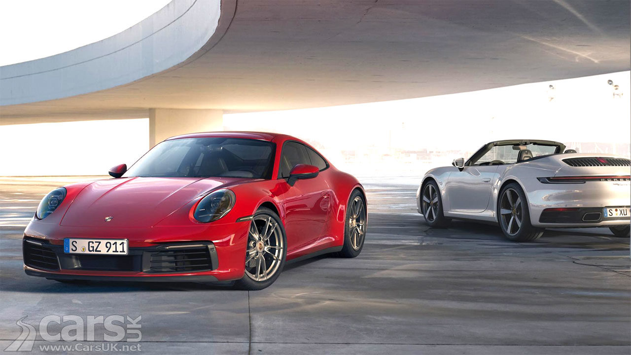 Photo New Porsche 911 Carrera 4: