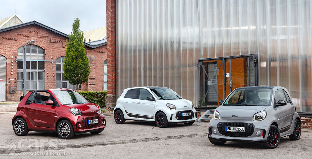 Photo New Smart EQ Fortwo and Forfour