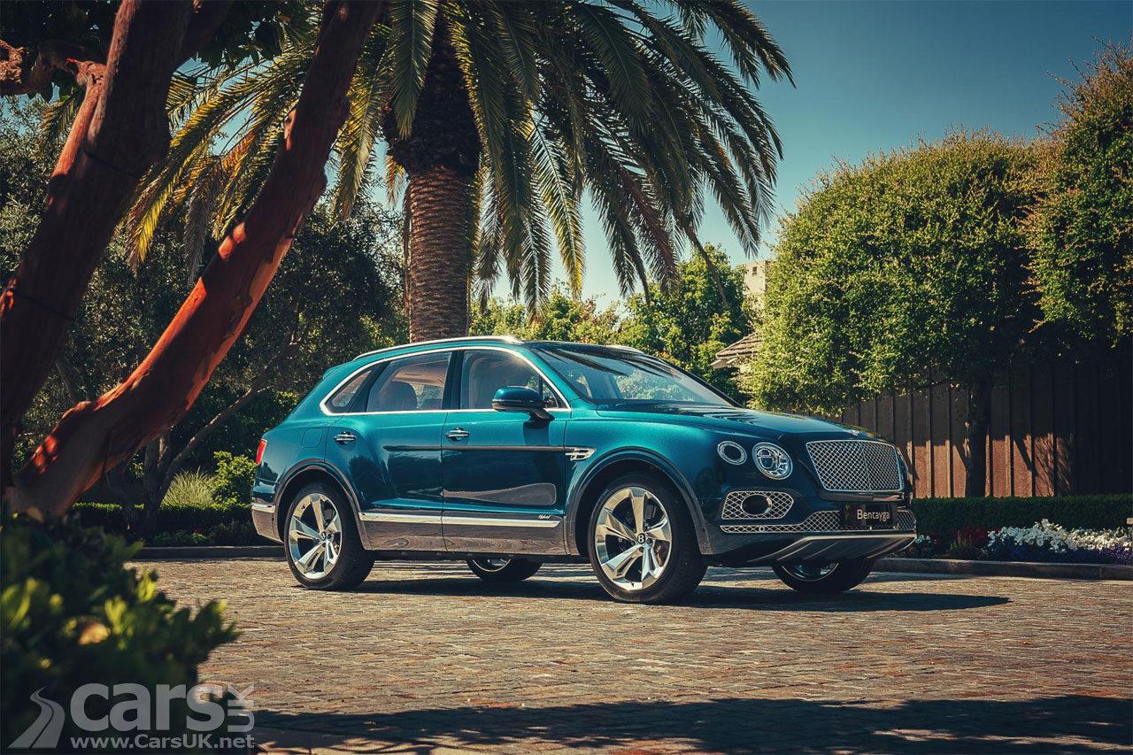 Photo Bentley Bentayga plug-in Hybrid