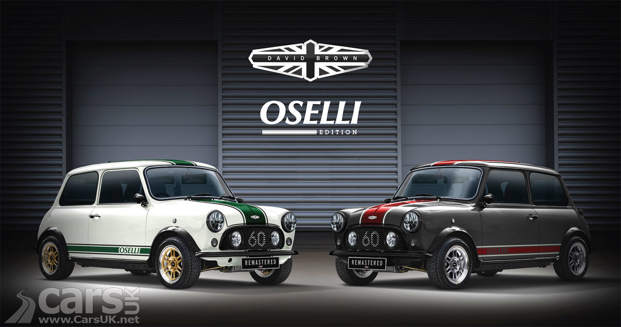 Photo David Brown Automotive's Mini Remastered Oselli Edition