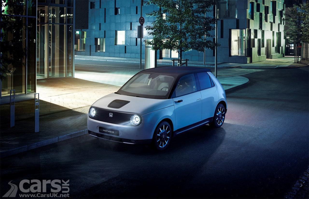 Photo Honda E Urban Electric Car