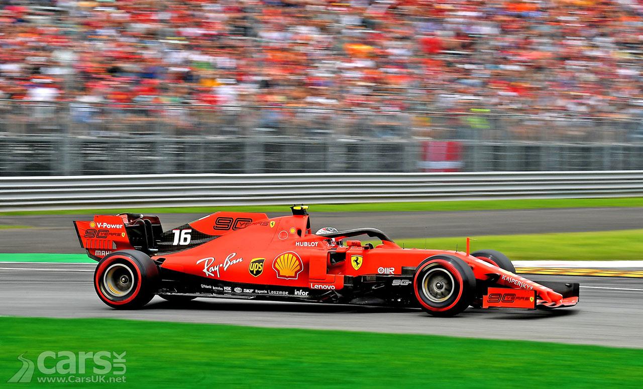 Leclerc on POLE at Italian Grand Prix