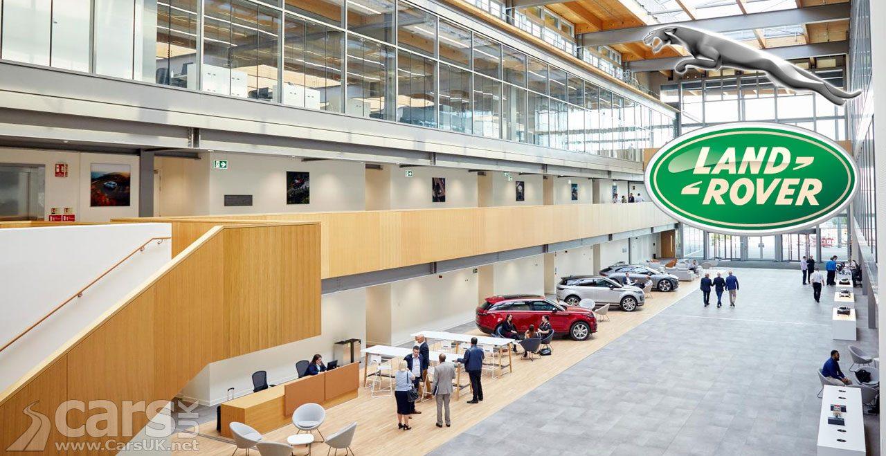 Photo New Jaguar Land Rover Creative Centre