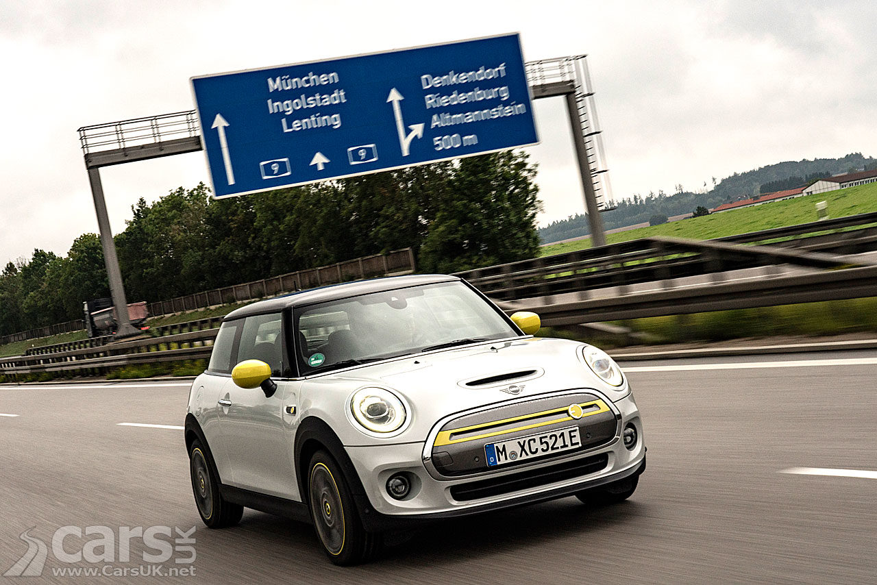 Photo MINI Electric drives from Munich to Frankfurt