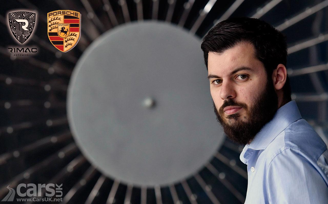 Photo Mate Rimac, CEO Rimac Automobili