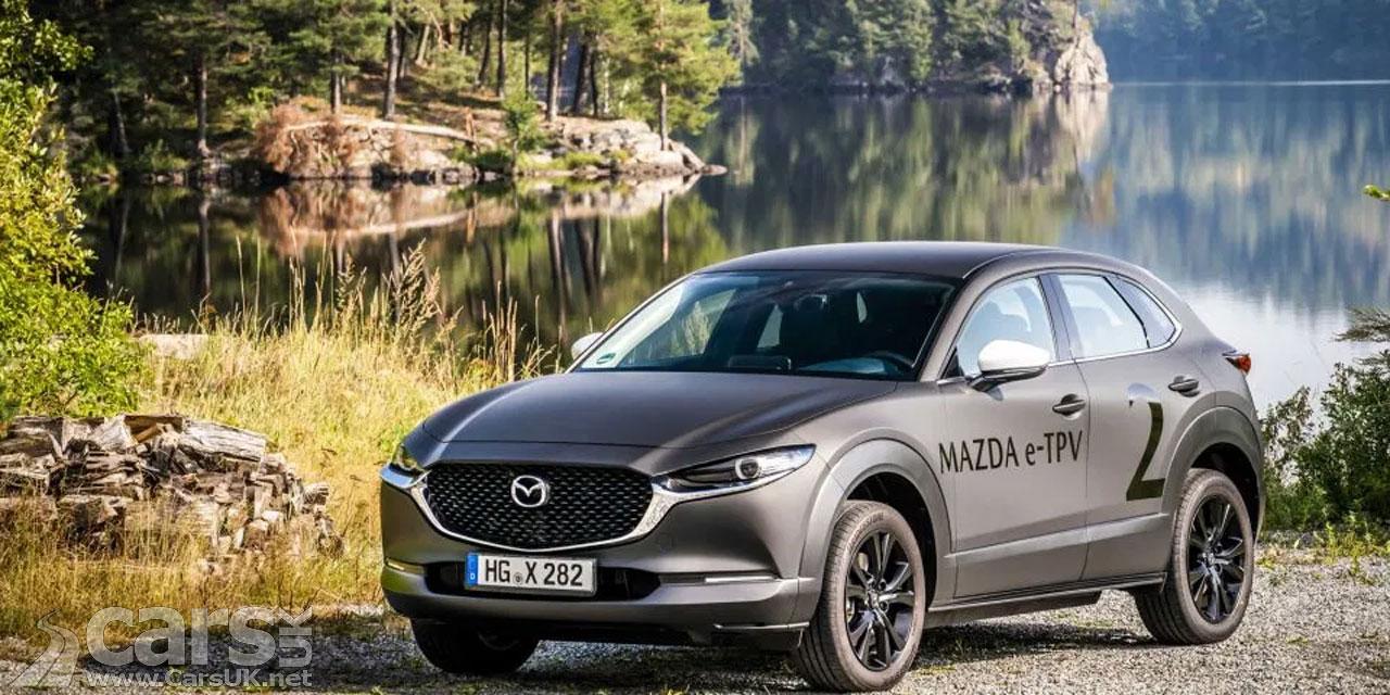 Photo Mazda e-TPV Prototype