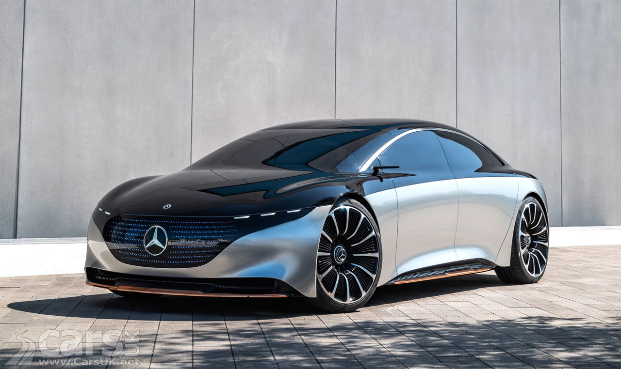 Photo Mercedes Vision EQS Concept