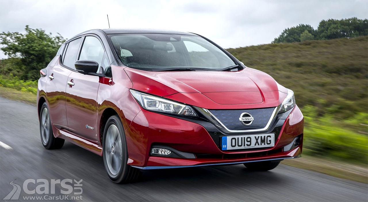 Nissan LEAF V2G EDF