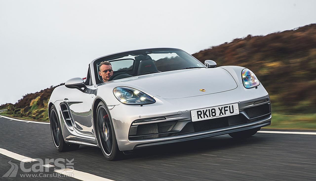 Photo Porsche Boxster Electric