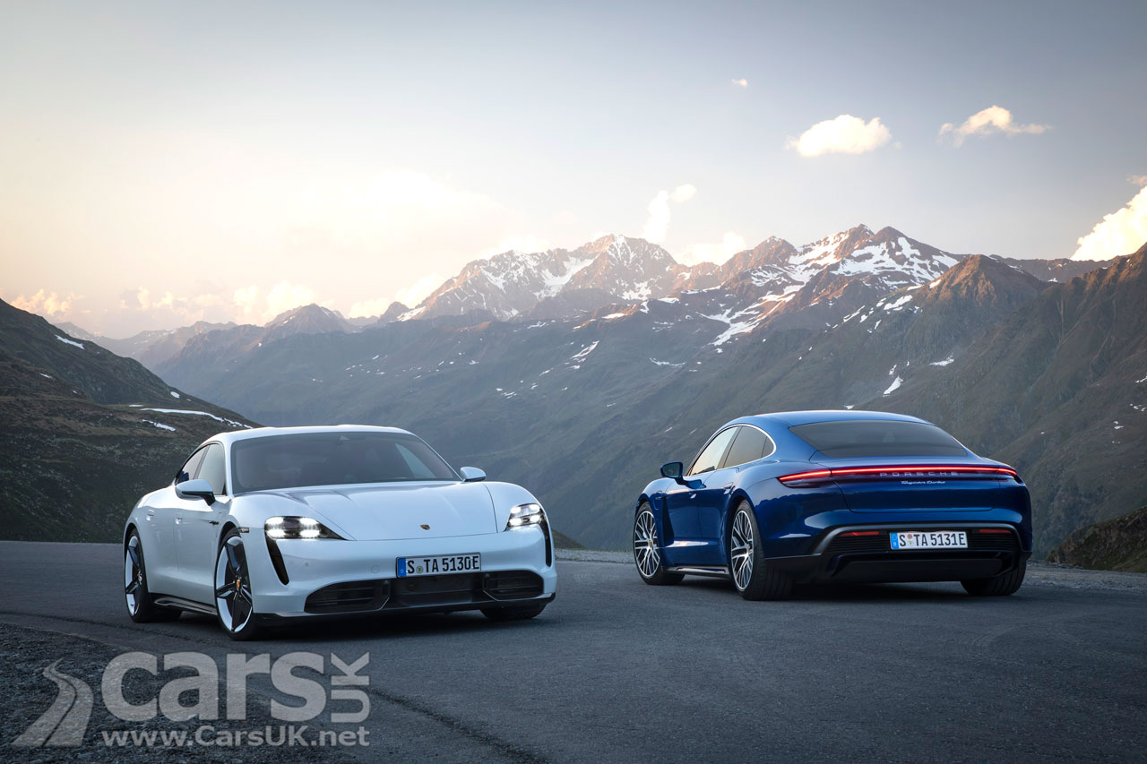 Photo of Porsche Taycan Turbo and Turbo S