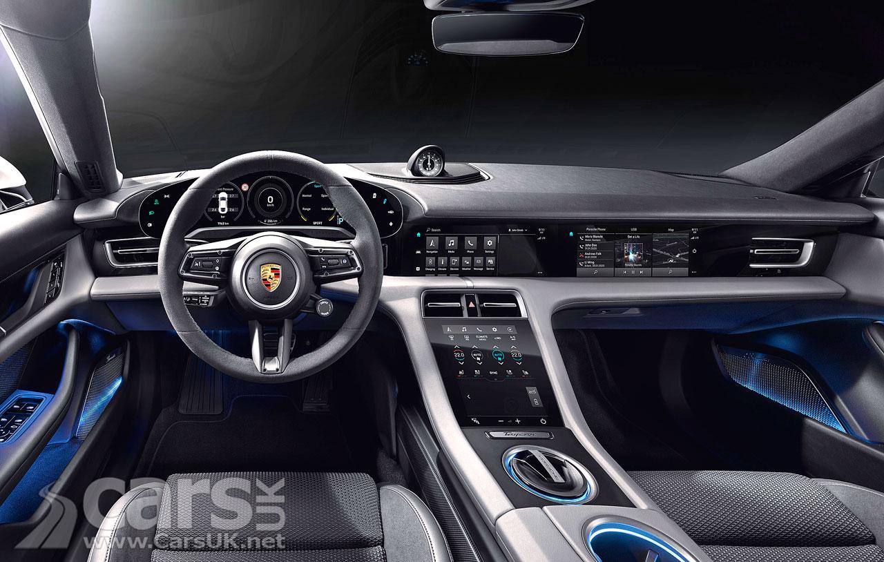 Photo Porsche Taycan interior