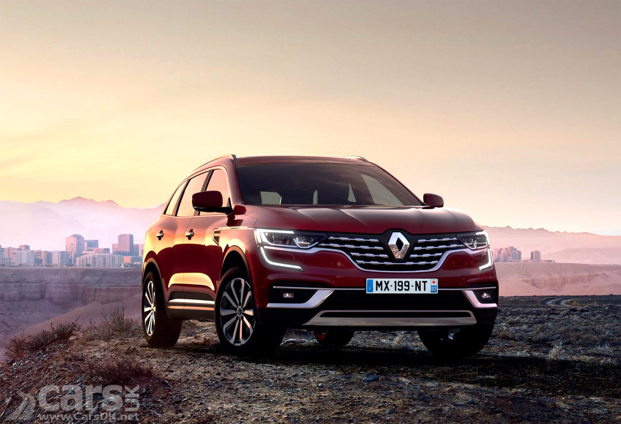 Photo 2019 Renault Koleos Facelift