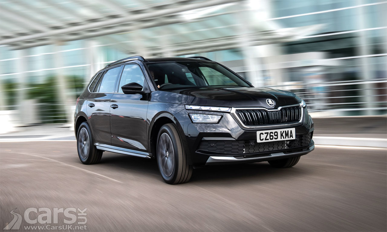 Photo Skoda Kamiq SUV UK
