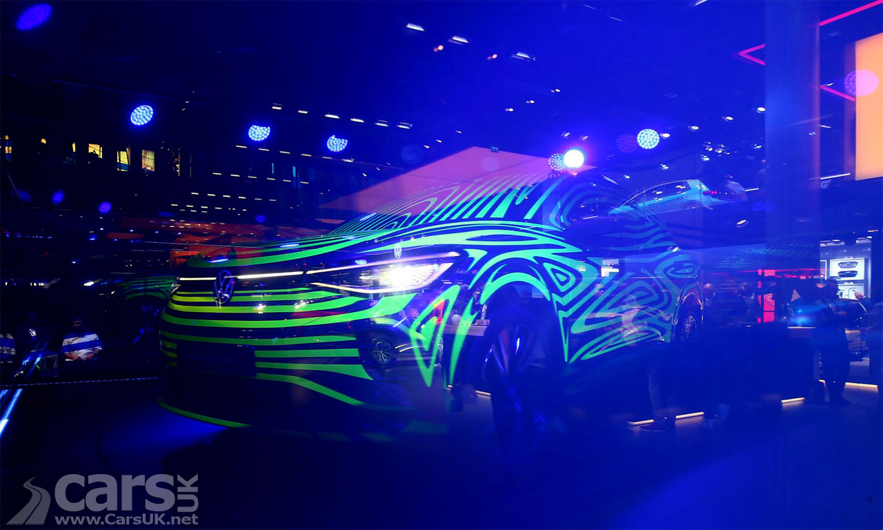 Photo VW ID 4 Electric SUV previewed