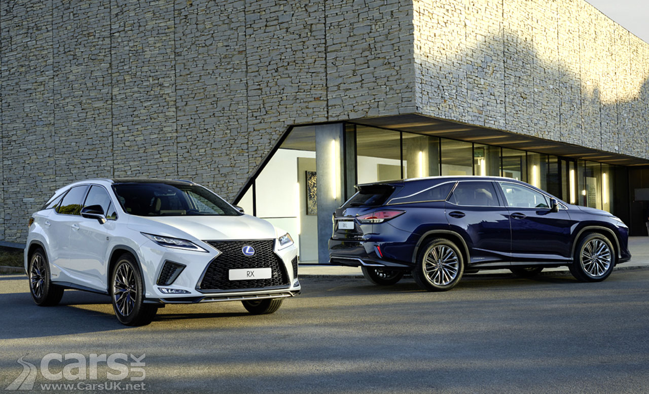 Lexus announce UK prices and specs for the facelifted RX and RX L SUV |  Cars UK