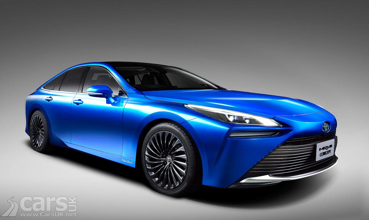 Photo New Toyota Mirai Hydrogen Fuel Cell
