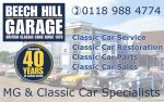 Beech Hill Garage | MG & Classic Car Specialists