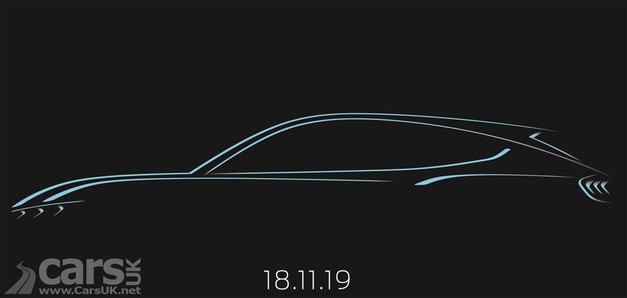 Photo tease for electric Ford Mustang SUV