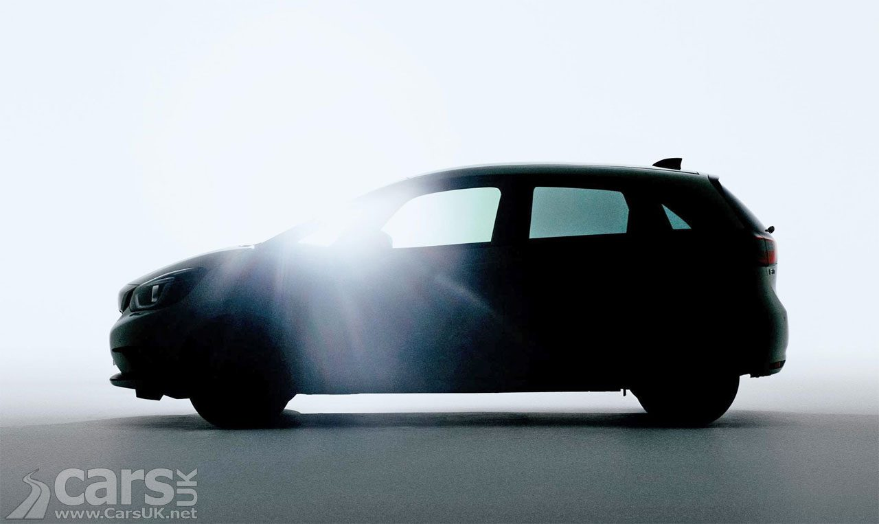 Tease photo of the new Honda Jazz