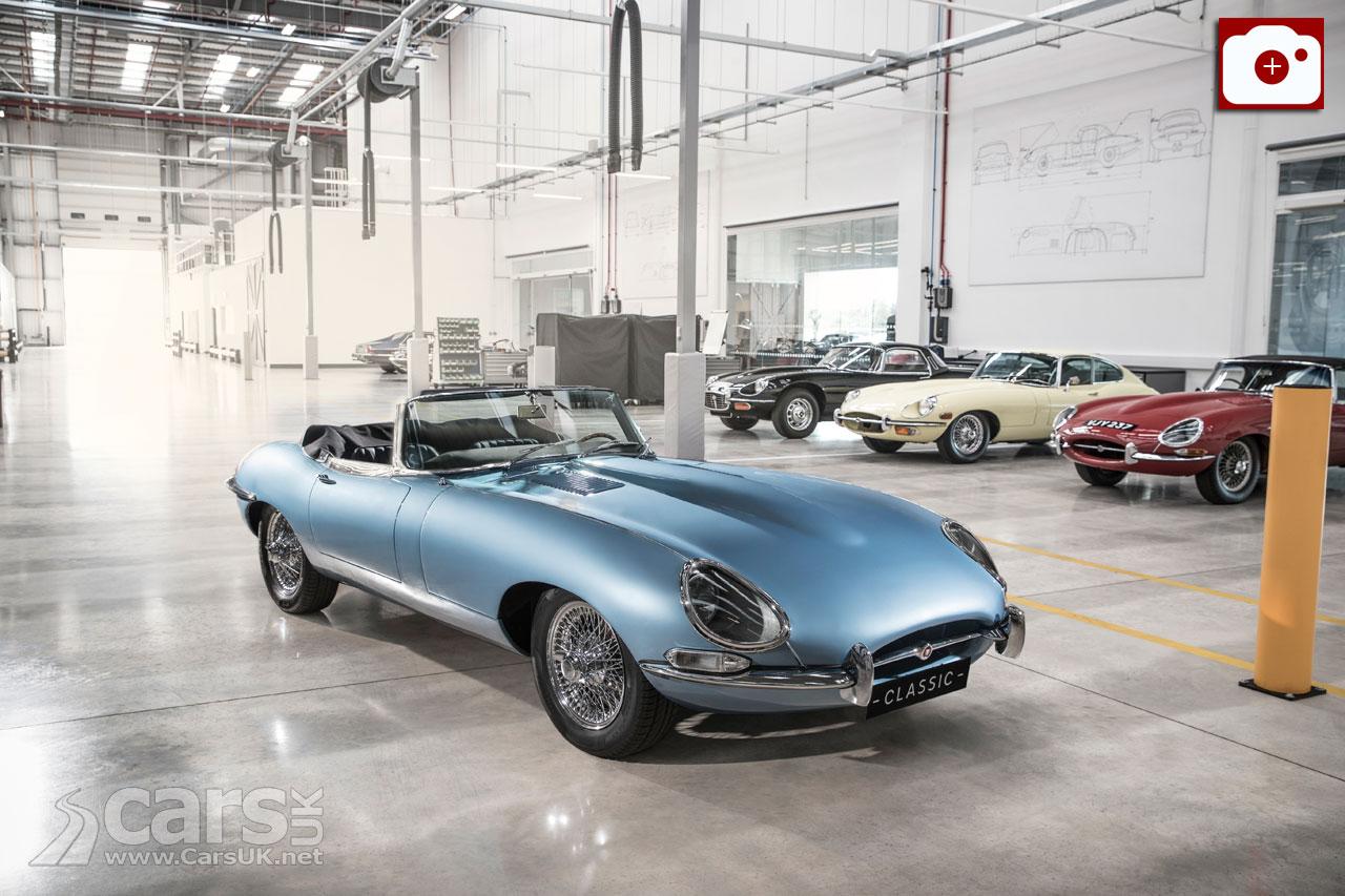 Photo electric Jaguar E-Type
