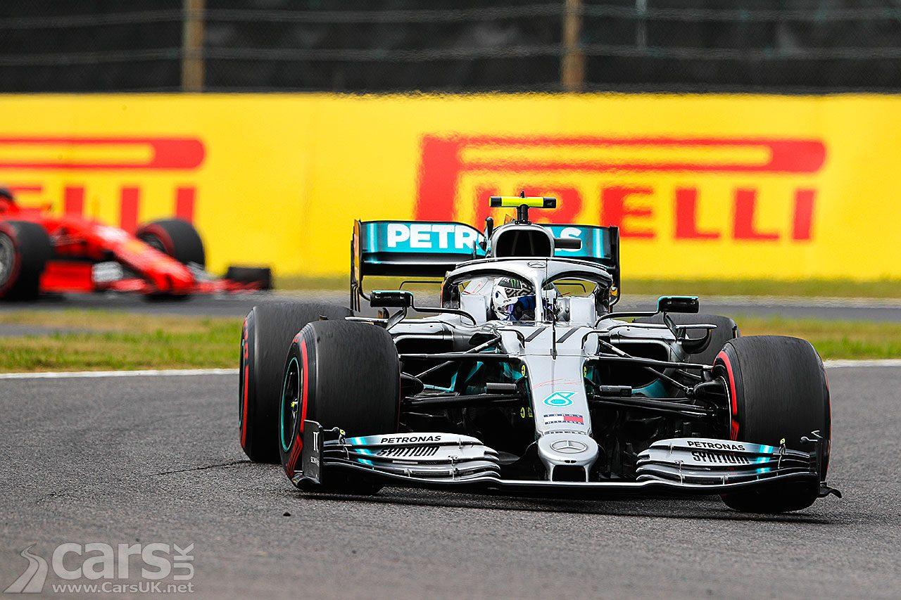Photo Bottas wins the Japanese Grand Prix