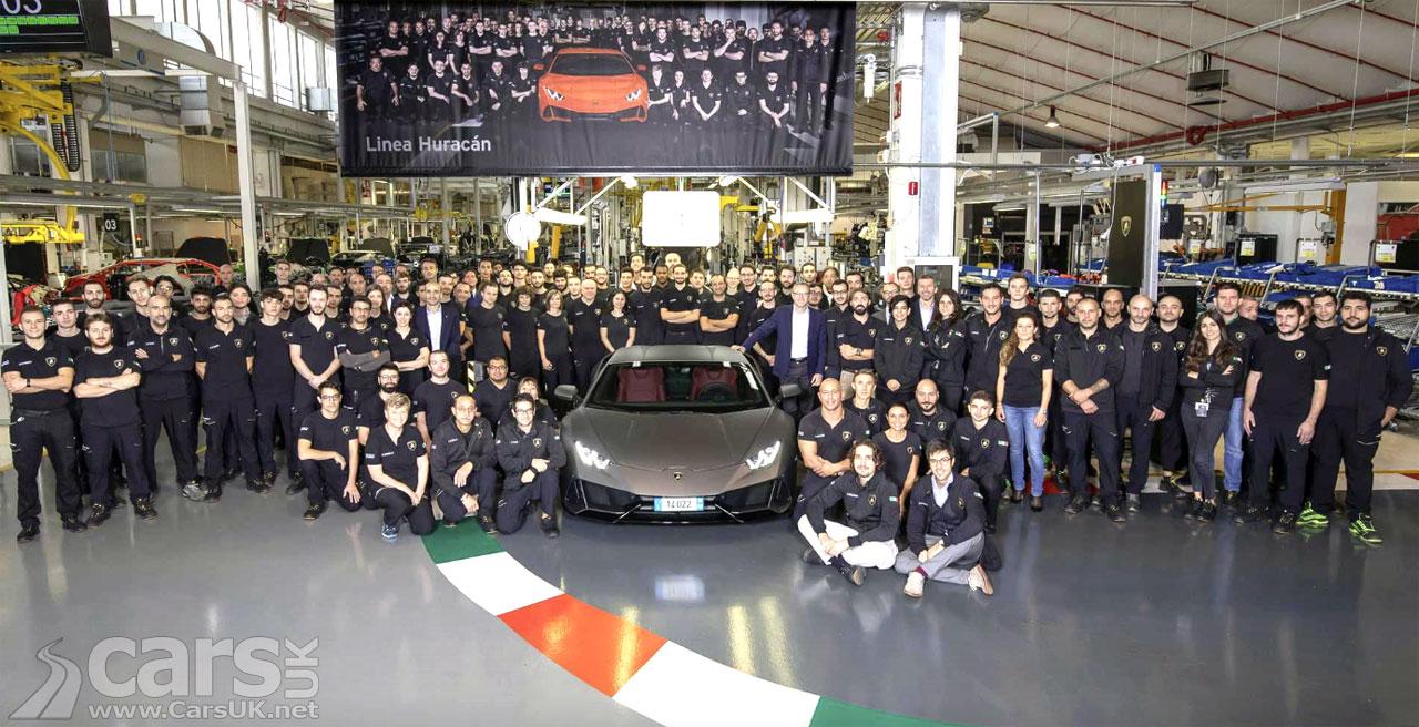 Photo Lamborghini Huracan 14,022