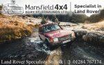 Mansfield 4×4 | Land Rover Specialist Suffolk