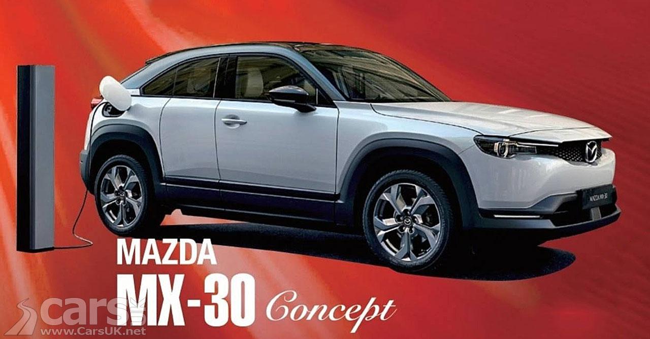 Photo Electric Mazda MX-30 Concept