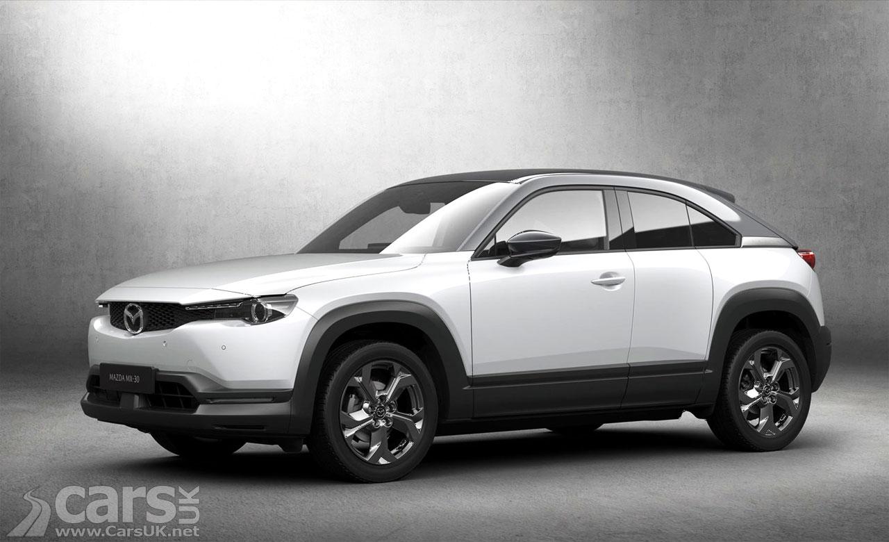 Photo Mazda MX-30 Electric Crossover