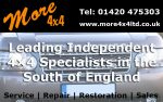 More 4X4 | Land Rover Specialists Hampshire