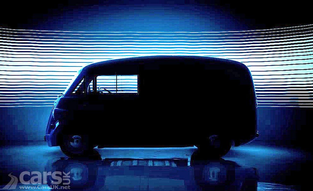 Morris JE electric Van tease