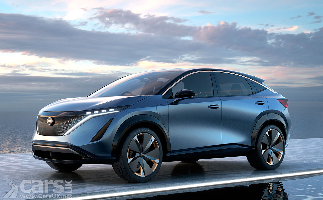 Photo Electric Nissan Ariya Concept