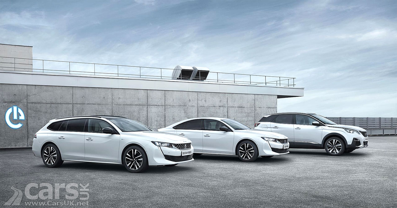 Photo Peugeot 3008 and 508 Plug-in hybrids