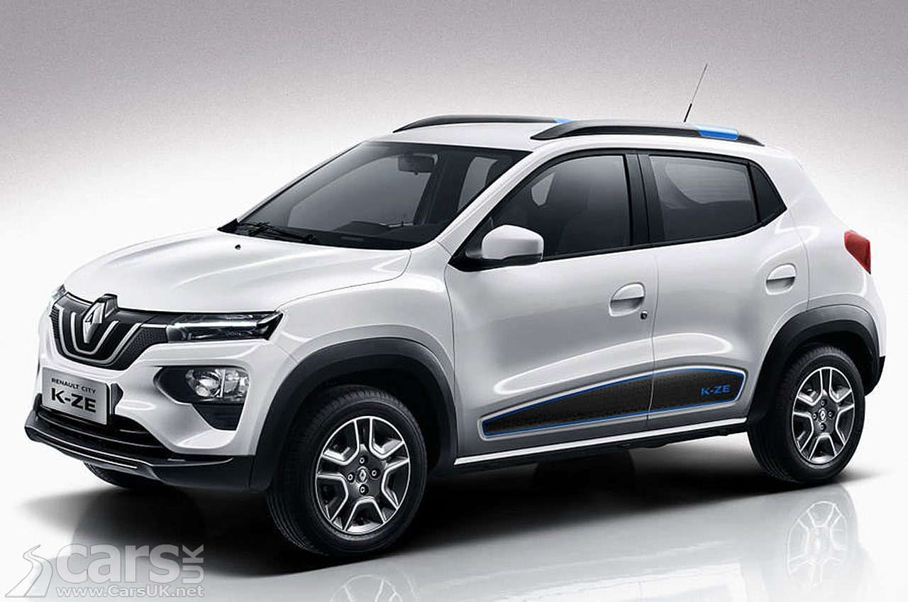 Photo Renault City K-ZE electric baby SUV