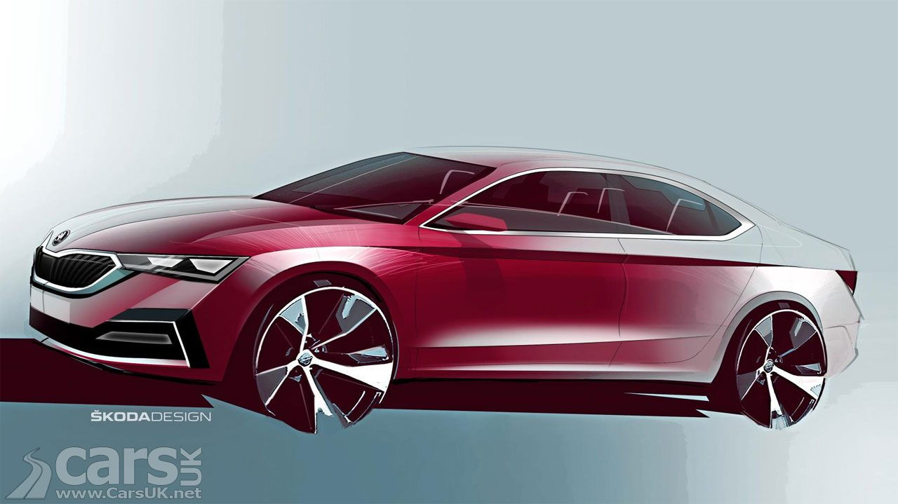 Photo New Skoda Octavia teased