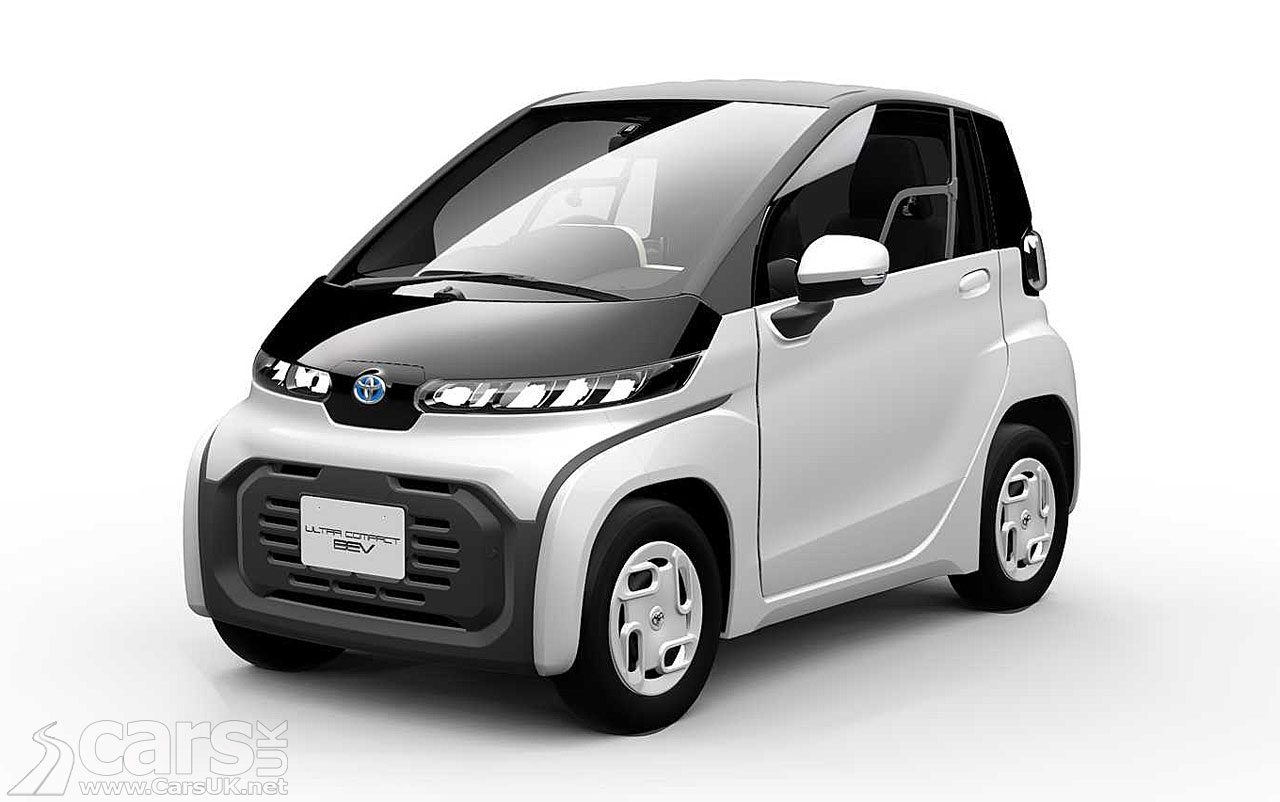 Photo Toyota Ultra-Compact BEV